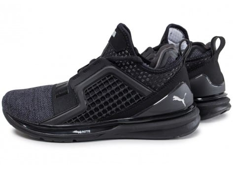 Chaussures Puma Ignite noires homme