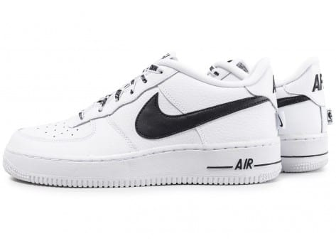 air force 1 nour et blanc