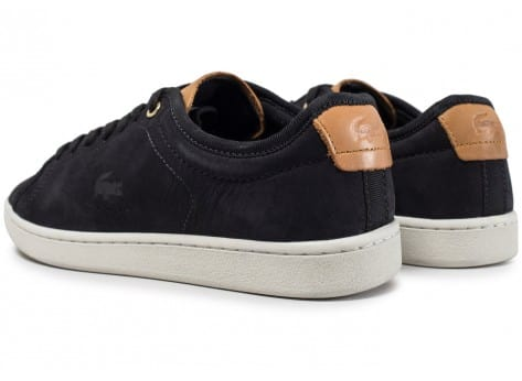 Chaussures Lacoste Carnaby Evo 317 W noire vue dessous