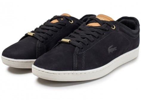 Chaussures Lacoste Carnaby Evo 317 W noire vue intérieure