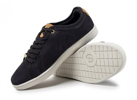 Chaussures Lacoste Carnaby Evo 317 W noire vue avant
