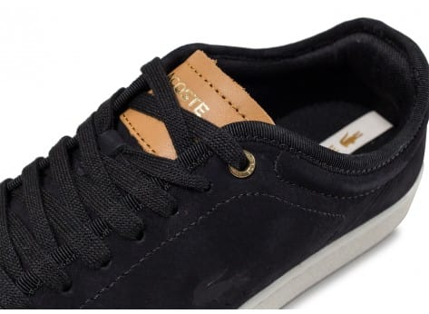 Chaussures Lacoste Carnaby Evo 317 W noire vue dessus