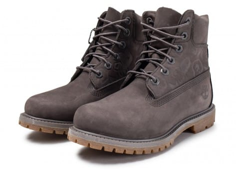 Chaussures Timberland 6-Inch Icon boot W grise vue intérieure