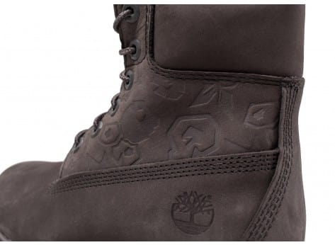 Chaussures Timberland 6-Inch Icon boot W grise vue dessus