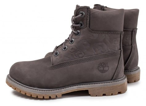 Chaussures Timberland 6-Inch Icon boot W grise vue extérieure