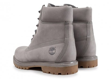 Chaussures Timberland 6-inch Premium Boots grise vue intérieure