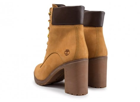 Chaussures Timberland Allington 6in W beige vue dessous