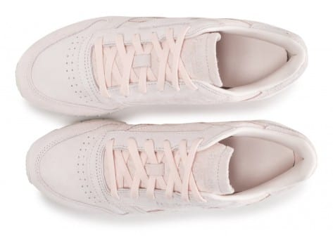 Chaussures Reebok Classic Leather Shimmer rose vue arrière