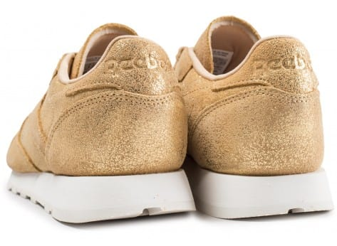 Chaussures Reebok Classic Leather Shimmer or vue dessous