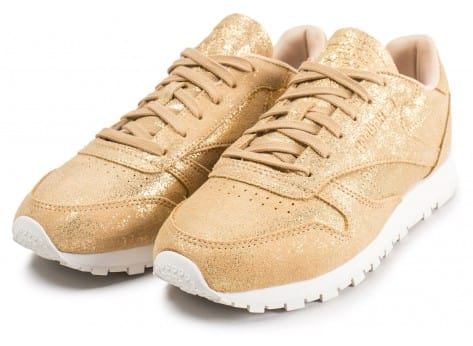 Chaussures Reebok Classic Leather Shimmer or vue intérieure