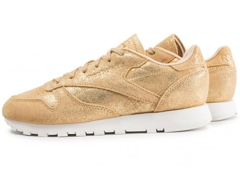 Chaussures Reebok Classic Leather Shimmer or vue extérieure