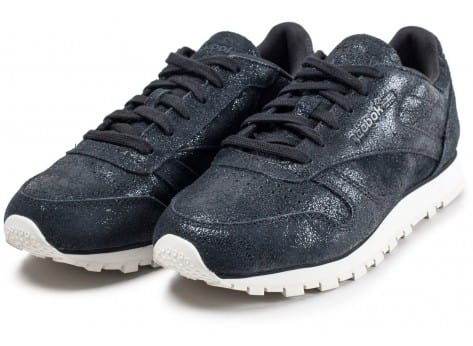Chaussures Reebok Classic Leather Shimmer noire vue intérieure