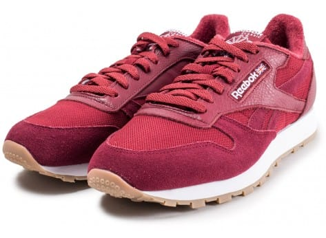 Chaussures Reebok Classic Leather Essential rouge vue intérieure