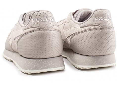Chaussures Reebok Classic Leather Ripple beige vue dessous