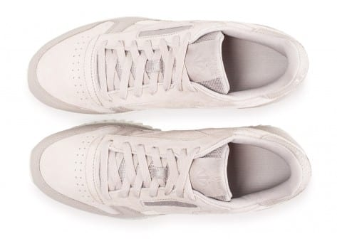 Chaussures Reebok Classic Leather Ripple beige vue arrière