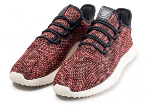 Chaussures adidas Tubular Shadow rouge vue intérieure