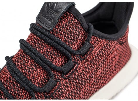 Chaussures adidas Tubular Shadow rouge vue dessus