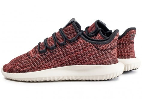 Chaussures adidas Tubular Shadow rouge vue extérieure