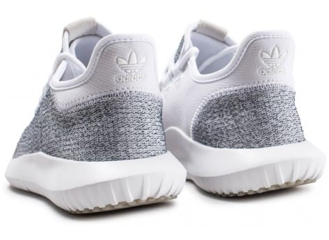 Chaussures adidas Tubular Shadow blanche vue dessous