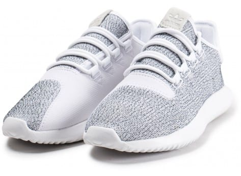 Chaussures adidas Tubular Shadow blanche vue intérieure