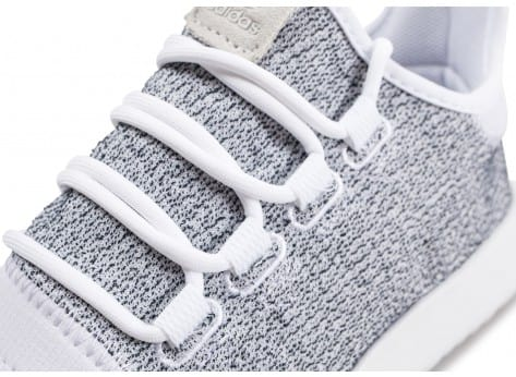 Chaussures adidas Tubular Shadow blanche vue dessus
