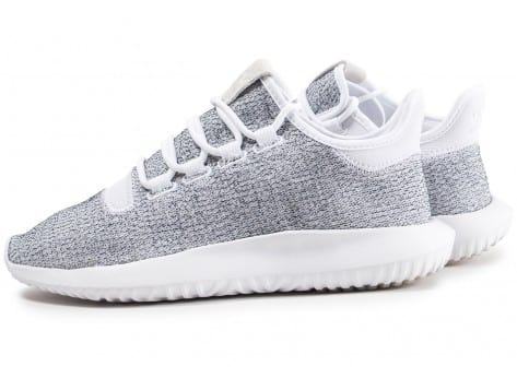 Chaussures adidas Tubular Shadow blanche vue extérieure