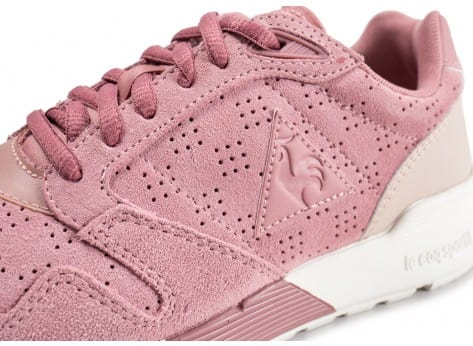 Chaussures Le Coq Sportif Omega X rose vue dessus