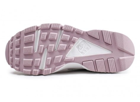 Chaussures Nike Air Huarache Run rose vue avant