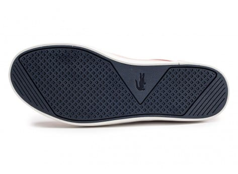 Chaussures Lacoste Straightset rose clair vue avant