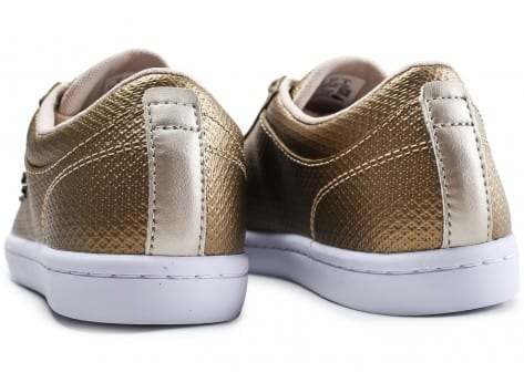 Chaussures Lacoste Straightset or vue dessous