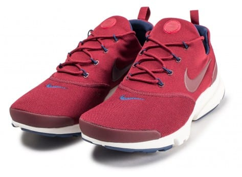 Chaussures Nike Presto Fly rouge vue intérieure