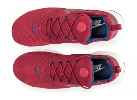 Chaussures Nike Presto Fly rouge vue arrière