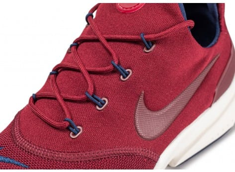 Chaussures Nike Presto Fly rouge vue dessus