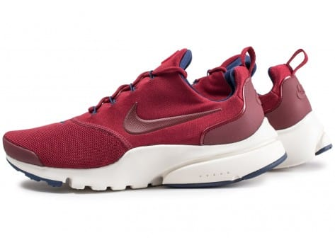 Chaussures Nike Presto Fly rouge vue extérieure
