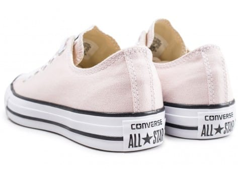 Chaussures Converse Chuck Taylor All Star Low rose clair vue dessous