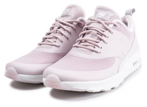 Chaussures Nike Air Max Thea  LX rose et blanche vue intérieure
