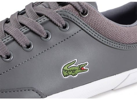 Chaussures Lacoste Angha grise vue dessus