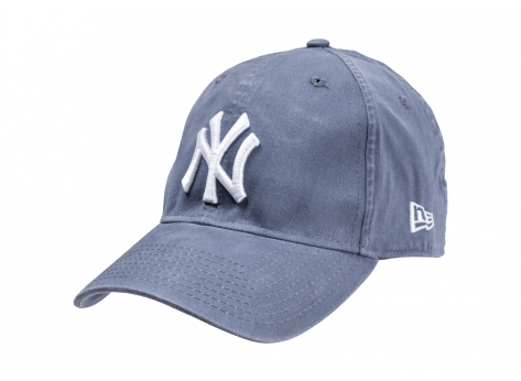 Casquettes New Era Casquette Washed bleue