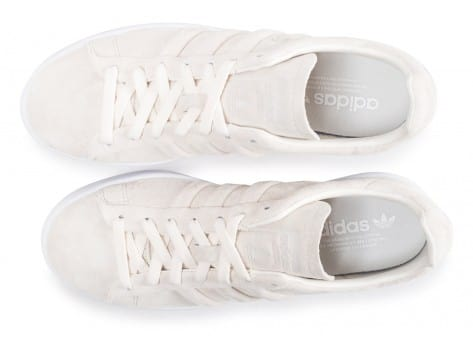 Chaussures adidas Campus Stitch and Turn beige vue arrière