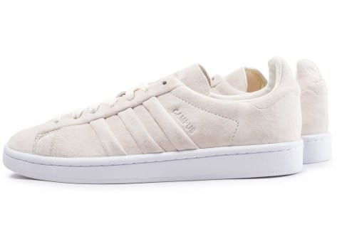 Chaussures adidas Campus Stitch and Turn beige vue extérieure