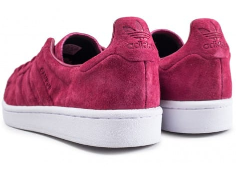 Chaussures adidas Campus Stitch and Turn rouge bordeaux vue dessous