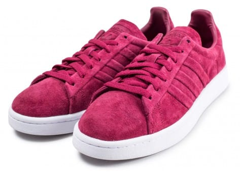 Chaussures adidas Campus Stitch and Turn rouge bordeaux vue intérieure