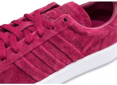 Chaussures adidas Campus Stitch and Turn rouge bordeaux vue dessus