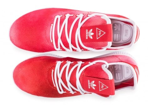 Chaussures adidas Tennis Hu Holi rouge vue arrière