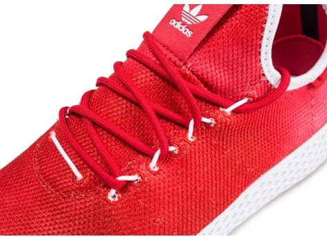 Chaussures adidas Tennis Hu Holi rouge vue dessus