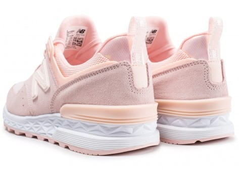 Chaussures New Balance WS574SND rose vue dessous