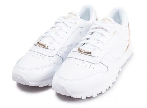 Chaussures Reebok Classic Leather HW blanc vue intérieure