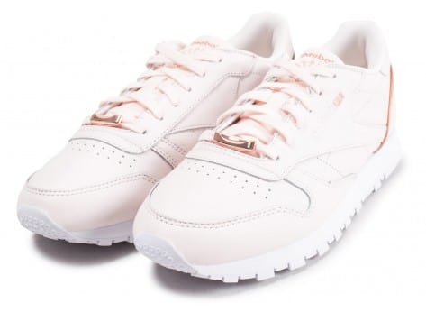 Chaussures Reebok Classic Leather HW rose vue intérieure