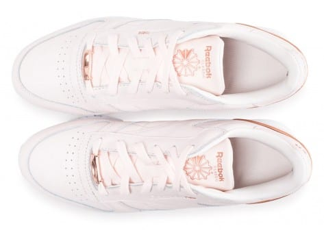 Chaussures Reebok Classic Leather HW rose vue arrière