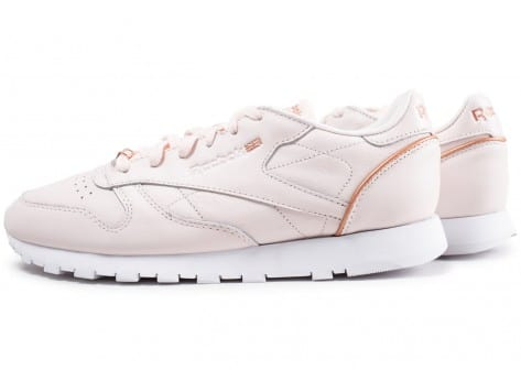 Chaussures Reebok Classic Leather HW rose vue extérieure